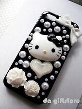 Hello Kitty Pearl Set Decorations Flatback Cabochon Craft Cell Phone DIY #DA193