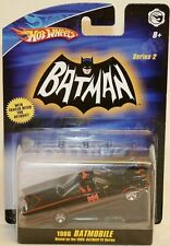 BATMAN 1966 VERSION : BATMOBILE DIE CAST MODEL BY HOT WHEELS IN 2008