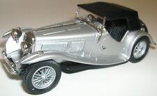 Lansdowne LDM63 1938 AC 16/80 Sports Roadster. 1:43 White Metal