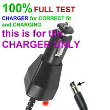 CAR Charger power adapter FOR Sony BDP-SX910 portable BLU-RAY DVD player