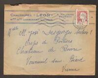 """BOURGES (18) Commerce CHAUSSURES """"LEON"""" en 1964"""