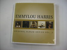 EMMYLOU HARRIS - ORIGINAL ALBUM SERIES VOL.2 - 5CD BOXSET NEW SEALED 2013