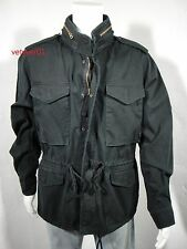 NWT RALPH LAUREN D&S Military/Combat Field Summer Jacket Black Washed size XXL