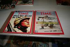 TIME MAGAZINE LOT OF 5  'Most about Iraq Wars '     'Plus extra'