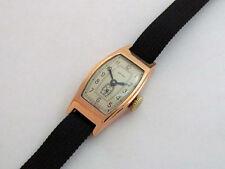 Zvezda PChZ Penza Vintage 1951 USSR Soviet 14k Gold Men's Watch Star SERVICED