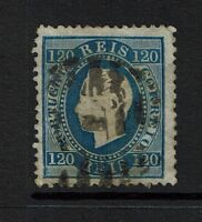 Portugal SC# 46, Used, shallow ctr thin, embossing tear, perf 12.5 - Lot 072317