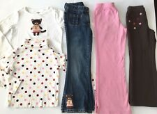 Girls 5 Piece LOT of Gymboree PURRFECT AUTUMN Tops Denim Pants Size 5 6 7 FALL