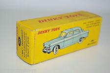 DINKY TOYS 553 PEUGEOT 404 EMPTY BOX NEAR MINT RARE SELTEN