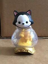Disney Tsum Tsum Series 1 Figaro Mystery Mini Figure With Fish Bowl Stand VHTF