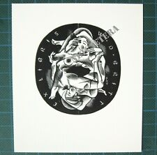 EX LIBRIS Bookplate Mark SEVERIN 104 Britt couple erotic