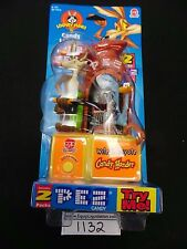 PEZ YUMMY BUBBLES BUGZ PURPLE DISPENSER 2002 MIB