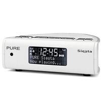 Pure Siesta Serie 2 DIGITAL DAB FM Radio Wecker weiß