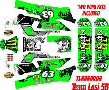 Losi 5iveB 5t HPI hoonage rovan wrap decals stickers rc wrap  BIGFLEX BGTTV1