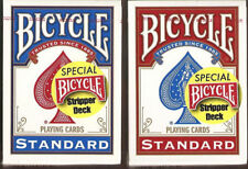 Bicycle Stripper playing cards deck RED Brand New Sealed
