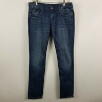 Vigoss Collection Fit Skinny Womens Dark Wash Blue Jeans Size 9/10 - 30