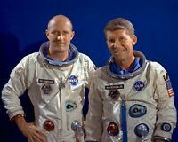 THOMAS STAFFORD AND WALLY SCHIRRA GEMINI 6 ASTRONAUTS - 8X10 NASA PHOTO (EP-800)