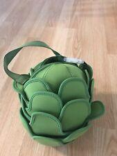 Rachel RAY Artichoke Bag Lunch Purse Cute w/ Handle Green H064