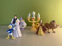 Disney Beauty and the Beast, Little Mermaid Etc. McDonalds Happy Meal Toys LOT