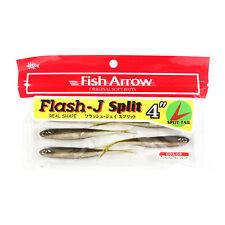 Fish Arrow Soft Lure Flash J Split 4 Inch 6 Piece per pack #01 (3745)