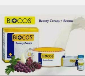 Bioocos Beauty Cream & Biocos Emergency Whitening Serum 100% Original Products