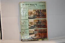 1963 RADIO SHACK CATALOG-RADIOS-AMPS-STEREOS-MOTOR SCOOTERS-CAMERAS-284 PAGE