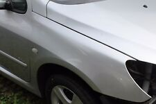 PEUGEOT 307 FRONT RIGHT HAND SILVER WING FROM 2001 - 2005