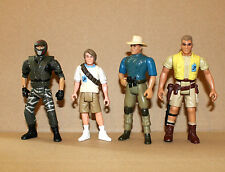 Jurassic Park Alan Murphy CARTER Robert Action figure personaggio (4) personaggi