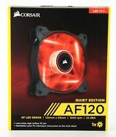 Corsair Air Series™ AF120 LED Red Quiet Edition High Airflow 120mm Fan