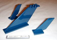 Lego Airplane Tail Large 12 x 2 x 5 Dark Blue 76022 Space Super Heroes