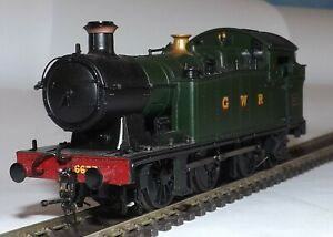 BACHMANN 32-084 CLASS 56XX 0-6-2T LOCOMOTIVE 6677 GWR GREEN DCC FITTED