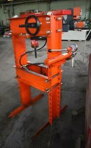 "5 TON HYDRAMEC/SNAP ON ""H""-FRAME  HAND-OPERATED HYDRAULIC SHOP PRESS - #29323"