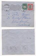 1938 SOUTH AFRICA Cover DURBAN to EDINBURGH SCOTLAND Slogan