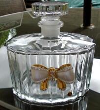 Italy/Venetian Decanter Clear Crystal & Cut Glass