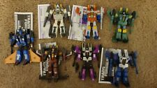 Hasbro Transformers Generations - deluxe seekers lot
