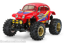 Tamiya 58618 Monster Beetle RC Kit-Accordo Bundle con steerwheel Radio