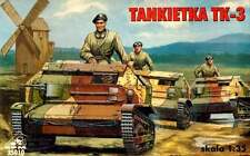 TK 3 ARMOURED RECCE VEHICLE POLAND 1939 1/35 RPM panzer (TKS)
