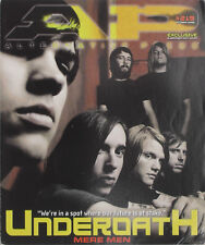 UNDEROATH October 2006 A.P. Magazine NEW FOUND GLORY / SUGARCULT / MASTODON