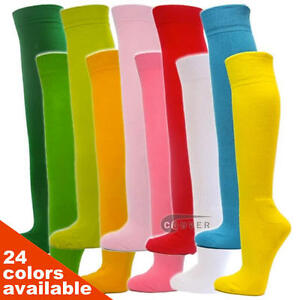 Couver Men/Women Knee High Sports Athletic Baseball Softball Cushion Socks