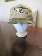 Ducks Unlimited Snapback Hat Cap Camo Outdoors hunting