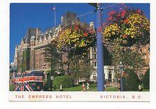The Empress Hotel, Victoria, B.C. Canada, Vintage 4X6 Postcard, Mar