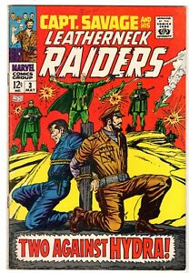 Capt. Savage and His Leatherneck Raiders #3, Very Fine Condition