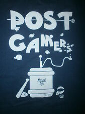 vtg 90s POSTGAMERS T SHIRT Post Game Sports Party Beer Kegger Natural Light XL