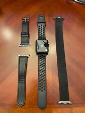 Apple Watch (Series 2) Nike+ (42mm; SpaceGray) + Bands + Case