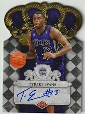 Tyreke Evans 2009-10 Panini Crown Royale Rookie Auto #294/399 - Sacramento Kings