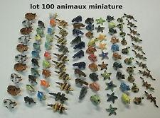 lot de 100 animaux pour vitrine, revendeur, collection,école   G-lot3