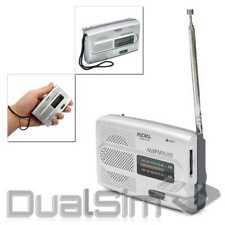 Tragbarer Mini Radio Taschenradio Reiseradio Mobil FM/AM BC-R28 Retro Design