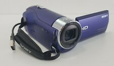 """Sony HDR-CX240 Camcorder - Blue 2.7"""" Display 9.2MP 54X Zoom FHD 1080P"""