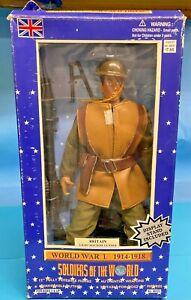 Soldiers of the World WWI 1914-1918 Britain Light Machine Gunner