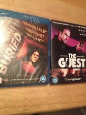 2 Sealed Blu Ray THE GUEST & BURIED