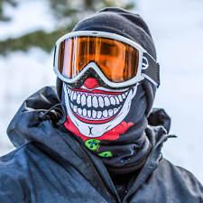 Salt Armour Clown Joker Frost Tech Thermal Fleece Face Shield Balaclava USA